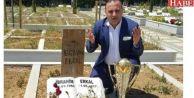 Erzurumspor Başkanı, Şampiyonluk Kupasını İbrahim Erkal#039;ın Mezarına Götürdü