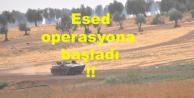 Esed Rusya yardımıyıla operasyona başladı