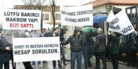 Esenyurt#039;ta  Belediye Önünde Eylem