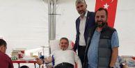Eski başkan Alatepe meydan da kan verdi