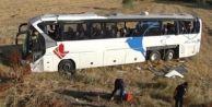 Eskişehir'de Otobüs Şarampole Devrildi: 42 Yaralı
