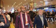 Galatasaray#039;ın yeni transferi İstanbul#039;da