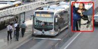 Gözü Dönmüş Sapık, Metrobüste Kadını Taciz Edip Cinsel Organını Dışarı Çıkardı
