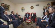 Gül, Başbakan, Meclis Başkanı ve 4 Partiyle Meclis#039;te Görüştü
