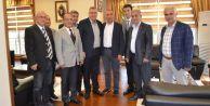 Milletvekili Gürsel Tekin Başkan Cem Karayı ziyaret etti
