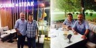 Han Gurme'n Steak Coşkun Sabah'ı ağırladı