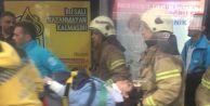Haramidere#039;de metrobüs kazası: Yaralılar var