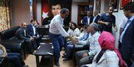 HDP#039;den AK Parti#039;ye bayram ziyareti