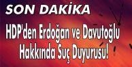 HDP#039;den suç duyurusu