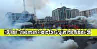 HDP#039;lilerin Tutuklanmasını Protesto Eden Gruplara Polis Müdahale Etti