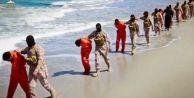 IŞİD esir Hristiyanları infaz etti