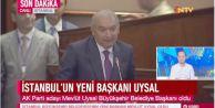 İstanbul Büyükşehir Belediyesi#039;nin yeni başkanı Mevlüt Uysal oldu.