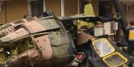 İstanbul#039;da askeri helikopter düştü! 4 asker şehit