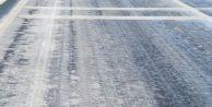 İstanbul#039;da buzlu yol alarmı