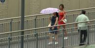İstanbul#039;da sağanak yağmur ve serin hava etkili oluyor