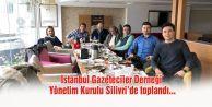 İstanbul Gazeteciler Derneği#039;ne yoğun katılım