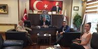 İstanbul Rumeli Üniversitesi#039;nden Başkan Cem Kara#039;ya Ziyaret