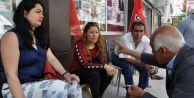 İstanbuldan Tunceliye kadın dayanışması