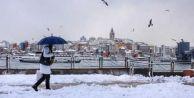 İstanbul#039;a kar yağışı başladı!