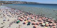 İstanbulluların tercihi Büyükçekmece sahilleri oldu