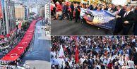 İzmir#039;de 9 Eylül coşkusu #039;Zafer Yürüyüşü#039; ile başladı