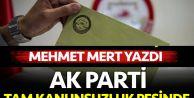 Kamuoyu 'mazbata#039; AK Parti 'tam kanunsuzluk#039; peşinde...
