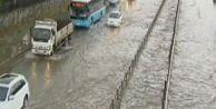 Kartal#039;da şiddetli yağmur