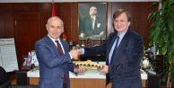 Kaymakam Arat'an Başkan Akgün'e iadeyi ziyaret