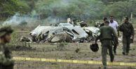 Kolombiya'da uçak düştü