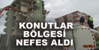 KONUTLAR BÖLGESİ RAHAT BİR NEFES ALDI