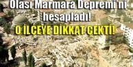 Korkutan Marmara depremi açıklaması!