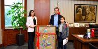 Küçük Başkan, Beylikdüzü Belediye Başkanı Koltuğuna Oturdu