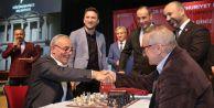 Küçükçekmece satranç oynadı