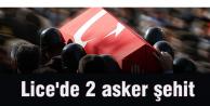 Lice#039;de 2 asker şehit