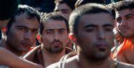 Makedonya'da sığınmacı eylemi