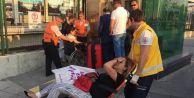 Marmaray#039;da bomba paniği: 2 yaralı
