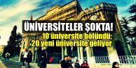 Meclis kabul etti... Üniversiteler bölünüyor!