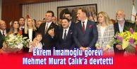 Mehmet Murat Çalık Görevi Devraldı