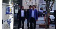 Melih Gökçek#039;ten Ahmet Hakan#039;a ziyaret
