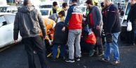 Merter#039;de Meydana Gelen Kaza, Trafiği Kilitledi