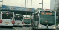 Metrobüs yolunda korkunç ölüm