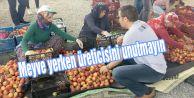 Meyve yerken üreticisini unutmayın