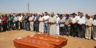 Minik Aylanın Cenazesi Kobani#039;de Toprağa Verildi