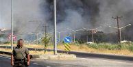 Patlama sonrası yangın çıktı