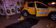 Müşteri bindiği takside hayatını kaybetti