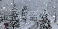 O ilçelerde okullara kar tatili!