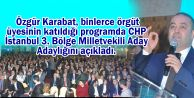 Özgür Karabat adaylığını açıkladı