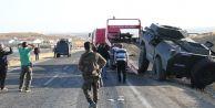 Panzer, kamyonetle çarpıştı: 1 şehit, 11 yaralı