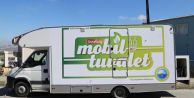 Pazar yerlerinde mobil tuvalet hizmeti