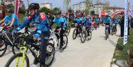 Büyükçekmece#039;de pedallar 23 Nisan için döndü